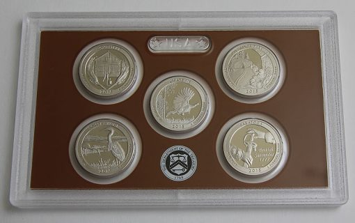 Photo of clad 2015 America the Beautiful Quarters Proof Set - 01