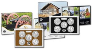 Proof Clad and Silver 2015 America the Beautiful Quarter Sets