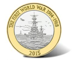 Royal Navy 2015 £2 Coins Released Into Circulation