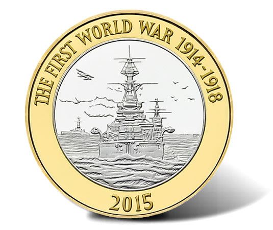 Royal Navy 2015 163 2 Coins Released Into Circulation Coin News