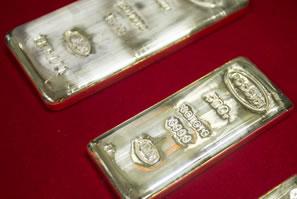 silver bullion, .9999 fine