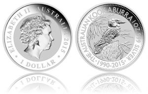 2015 Kookaburra 1 Oz Silver Bullion Coin Sells Out