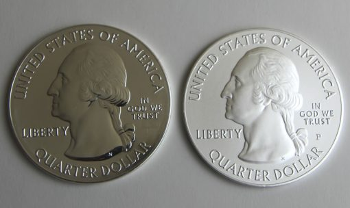 2015 Homestead 5 Oz Silver Bullion and Uncirculated Coins, Obverses
