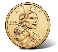 2015 Native American $1 Coin - Obverse