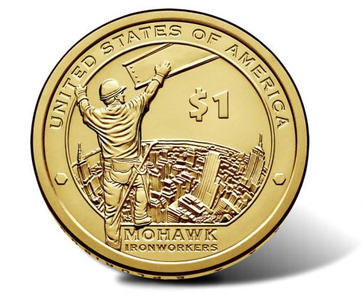 2015 Native American $1 Coin - Reverse