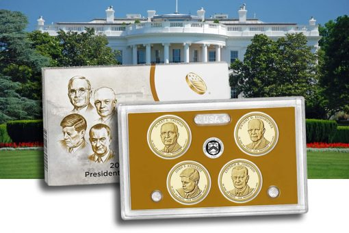 2015 Presidential $1 Coin Proof Set
