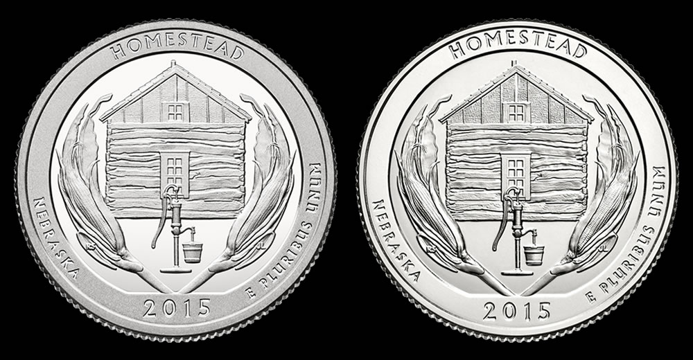Yunque National Forest Quarter Uncirculated