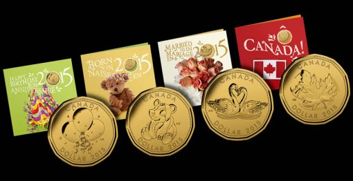 2015 Royal Canadian Mint Coin Gift Sets