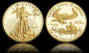 2015-W $50 Proof American Gold Eagle