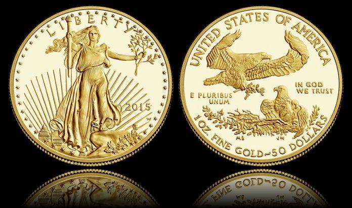2015-W $50 Proof American Gold Eagle