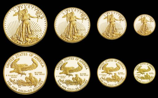 2015-W Proof American Gold Eagles