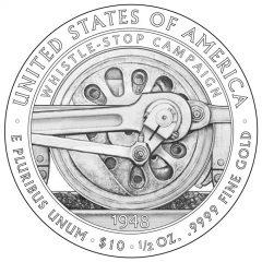 Bess Truman First Spouse Gold Coin Reverse Design