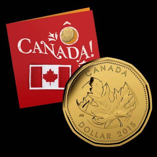 Canadian 2015 O Canada Gift Set