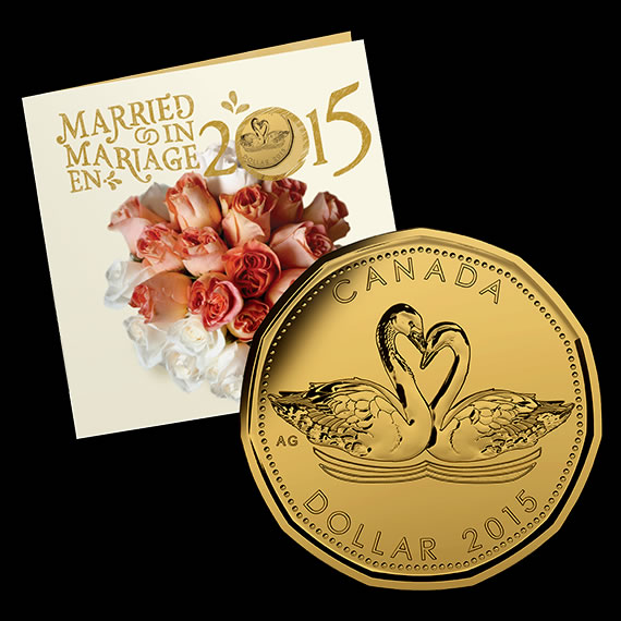 Personalized Wedding Gifts Canada: 2015 Canadian Coin Gift Sets