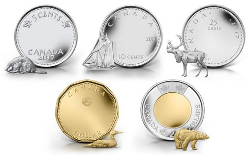 Canadian Design Contest for 2017 Circulation Coins