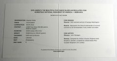 Homestead 5 Oz Silver Uncirculated Coin Specifications