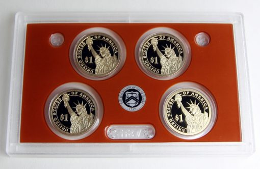 Photo of 2015 Presidential $1 Coin Proof Set - Lens and Coins, Reverses