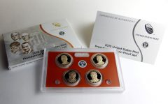 Photo of 2015 Presidential $1 Coin Proof Set and Packaging