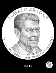 Ronald Reagan Presidential $1 Coin, Design Candidate RR-05