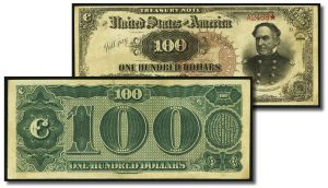 1890 Note May Top $150,000 at Heritage CSNS Currency Auction