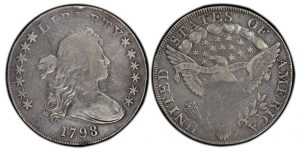 PCGS Certifies New 1798 Draped Bust Dollar Variety