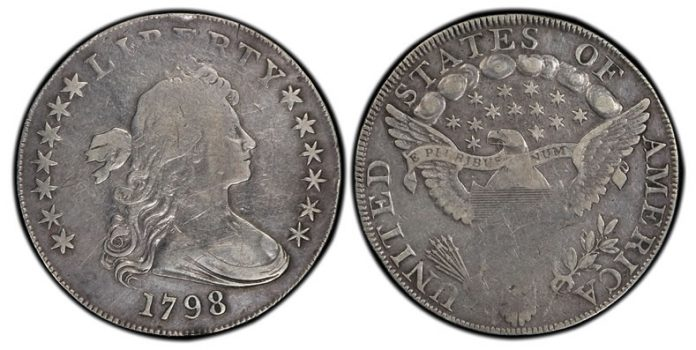 1798 Bust dollar variety, 1798 B-34, BB-126
