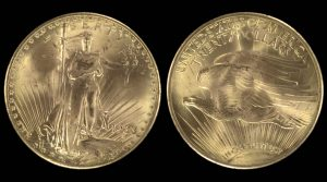 Court Rules 1933 $20 Double Eagles Property of Family