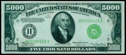 1934 $5000 FRN from St. Louis