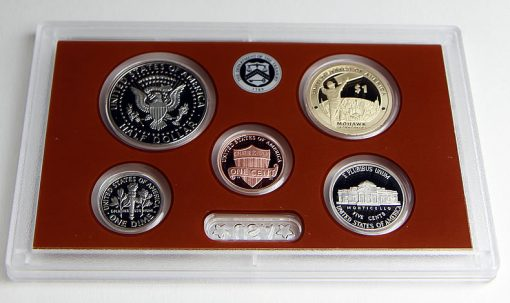 1c, 5c, 10c, 50c and $1 (Reverses) in 2015 Proof Set