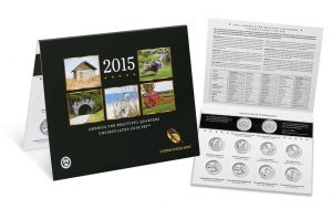 2015 ATB Quarters Uncirculated Set Includes 10 Coins for $12.95
