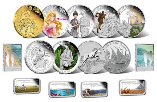 2015 Australian Coins for April