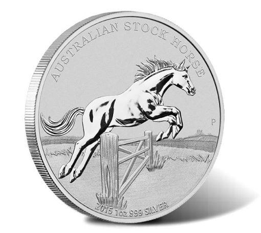 2015 Australian Stock Horse Silver Coin