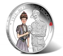 2015 Billies for the Troops Silver Proof Coin