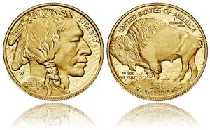 2015 Proof American Gold Buffalo
