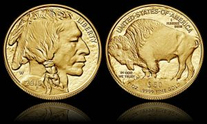 2015 Proof Gold Buffalo