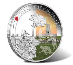 2015 Spirit of the Fallen Silver Proof Coin
