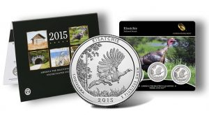 America the Beautiful Quarters Uncirculated Coin Set, Kisatchie Quarter and Three-Coin Set