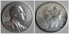 Franklin D. Roosevelt Presidential Silver Medal