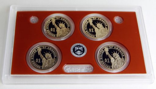 Presidential $1 Coins (Reverses) in 2015 Proof Set