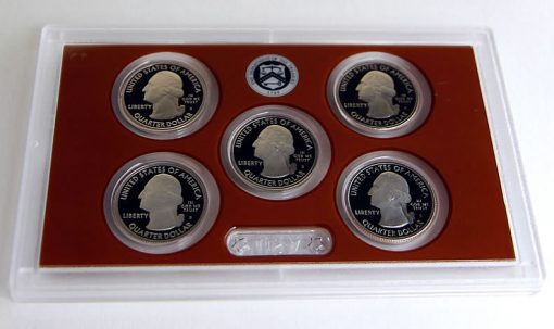 Quarters (Obverses) in 2015 Proof Set