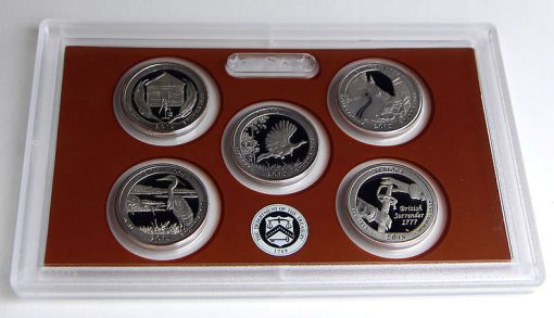 Quarters (Reverses) in 2015 Proof Set