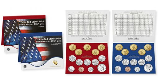 United States Mint Uncirculated Coin Set