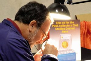 PCGS Coin Grading Contest at June 2015 Long Beach Show