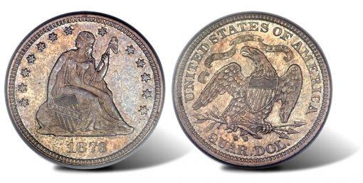 1873-CC No Arrows Seated quarter
