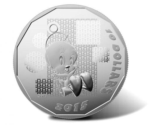 2015 $10 I Tawt I Taw a Putty Tat Silver Coin