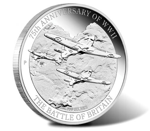 2015 Battle of Britain Silver Proof Coin