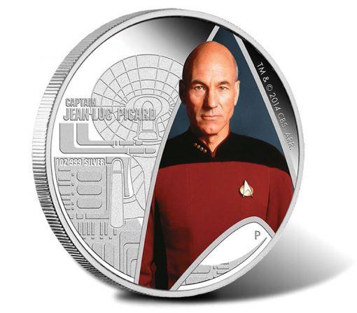 2015 Captain Jean-Luc Picard Silver Coin