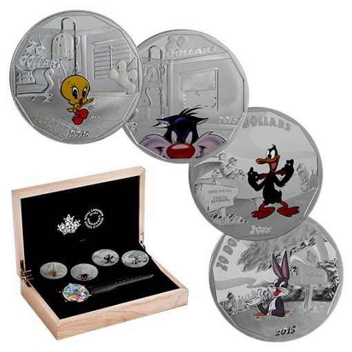 2015 Looney Tunes 4-Coin Subscription
