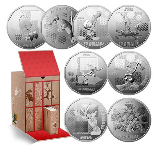 2015 Looney Tunes 8-Coin Subscription