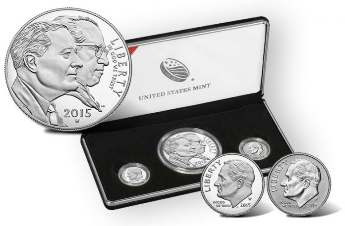 2015 March of Dimes Special Silver Set and Coin Images